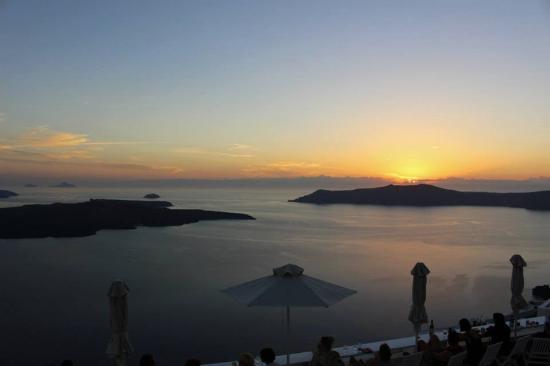 Villa Ilias Caldera Hotel: Sunset