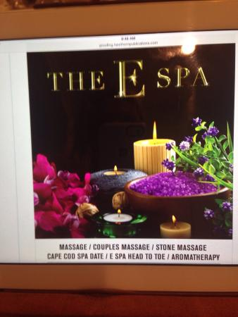Brewster, MA: The E Spa