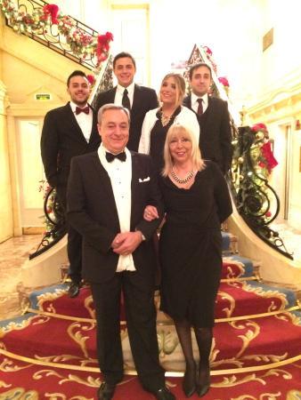 Hotel Ritz, Madrid: Nochebuena