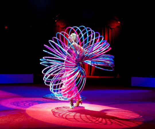 Hula Hoop Act - Circus Sarasota