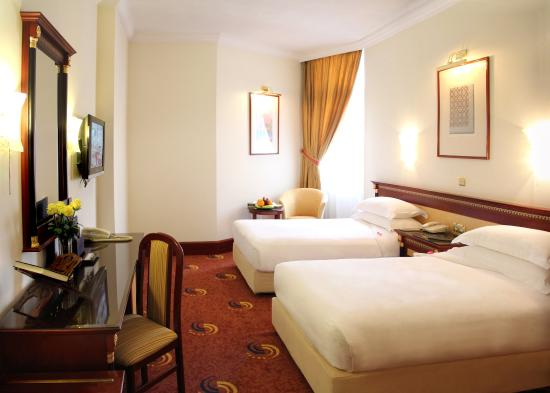 Hotel Al Shohada: Twin Bed at Al Shohada Hotel Mecca