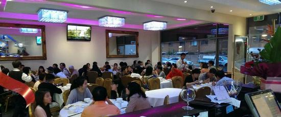 Grand Pearl Seafood Restaurant Dining Area