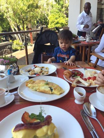 One&Only Cape Town: Breakfast at Reuben's