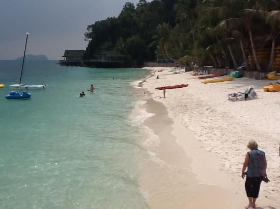 Pulau Rawa, ماليزيا: plage de rawa