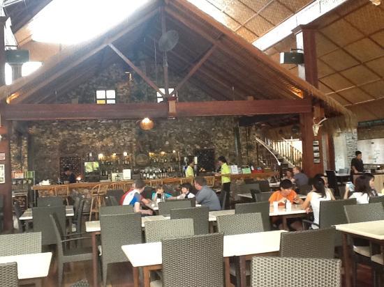 Pulau Rawa, ماليزيا: salle à manger
