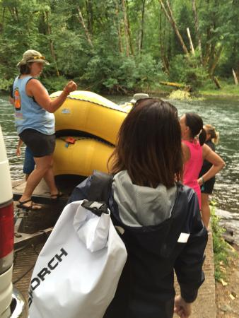 Monroe, OR: TnT Whitewater Rafting