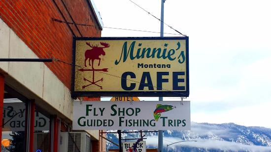 Minnie's cafe - Thompson Falls, MT