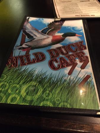Wild Duck Cafe: Wild Duck Menu