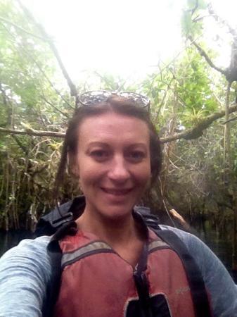 Everglades Area Tours: Mangrove tour selfie!