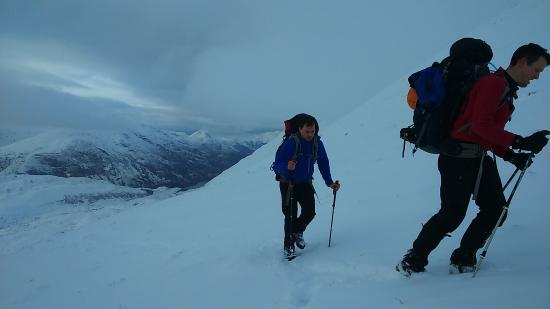 Kinlochleven, UK: Winter Walking and Camping Skills