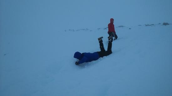 Kinlochleven, UK: Learning Winter Walking Skills
