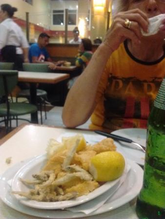 Montecatini Perla : Rabas y cornalitos.
