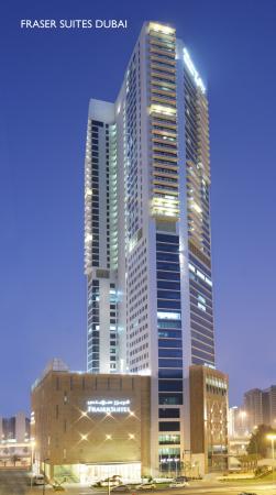 Fraser Suites Dubai Facade