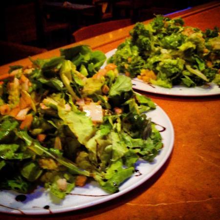 Piso Livadi, Grecia: green salad