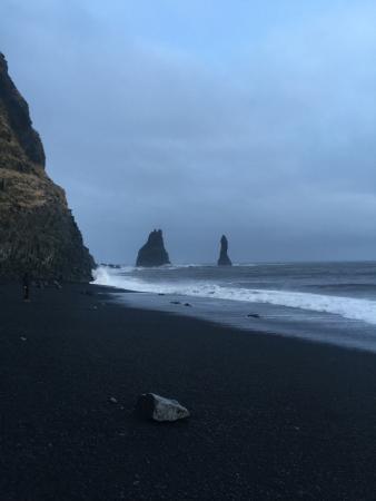 Black Sand Beach Photo