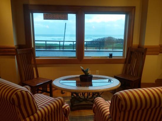 Oceanside, Όρεγκον: Coffee Lounge Seating