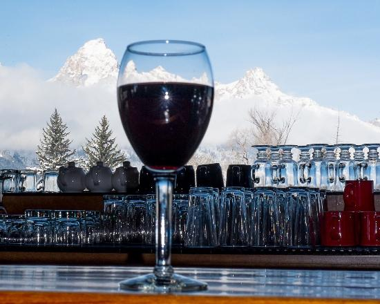 Moose, WY: Wine & A VIew!