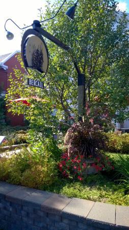 Joliette, แคนาดา: Enseigne du restaurant