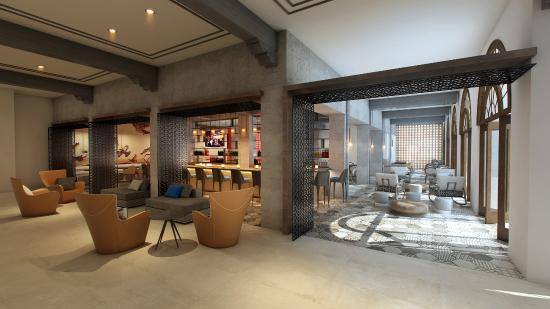 hotel lounge renovation rendering picture of doubletree by hilton rh tripadvisor co uk