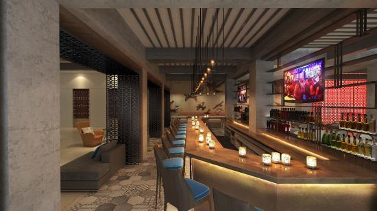 hotel bar renovation rendering picture of doubletree by hilton rh tripadvisor com