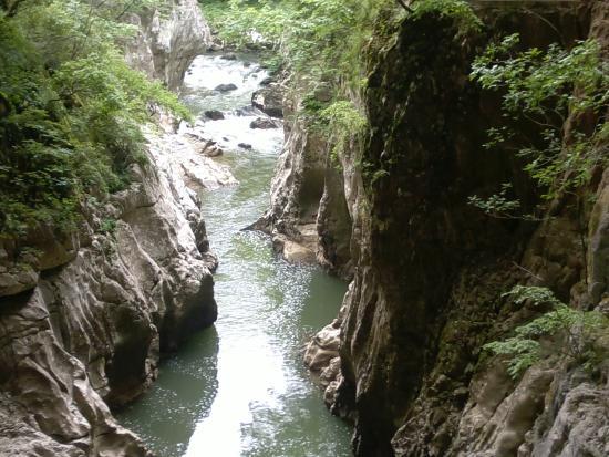 in the skocjan caves