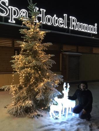 Runni, Suomi: Центральный вход
