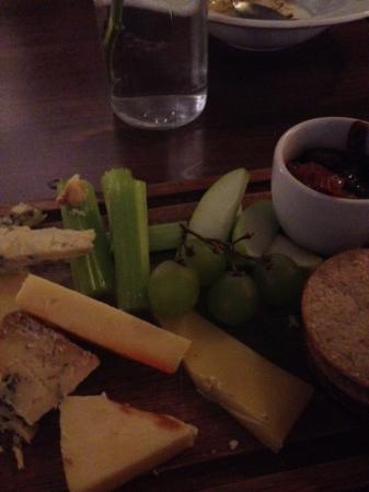Ruddington, UK: Winter cheese board