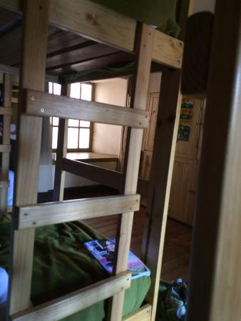 Ecopackers: View from bunk