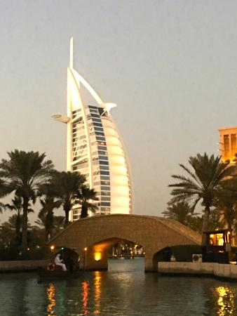 Spectacular view of Burj Al Arab