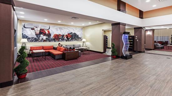 Duncan, OK: Hotel Lobby