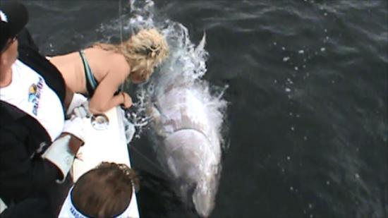 Antigonish, Canada: catch and release!