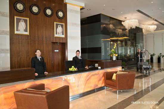 Fraser Suites Doha: Reception