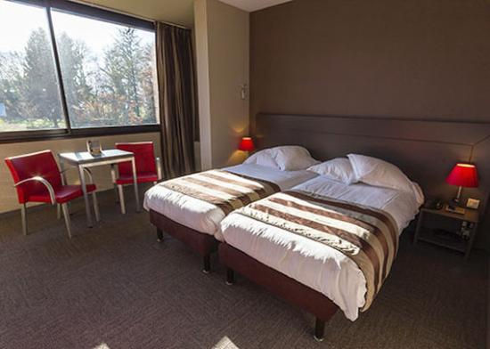 Voglans, Prancis: Twin Room