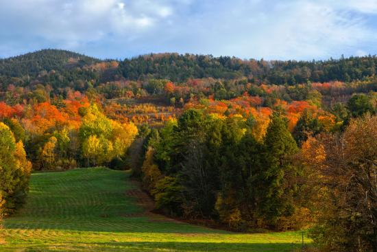 Brownsville, VT: Autumn brings fall foliage