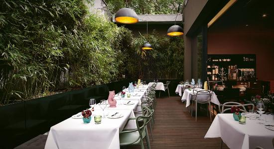 Hotel MANI: MANI Restaurant Outdoor