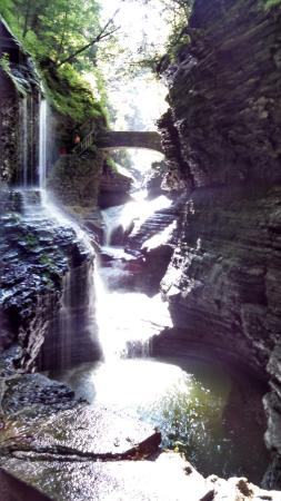 Watkins Glen State Park: There a couple of bridges along the way to get a great view