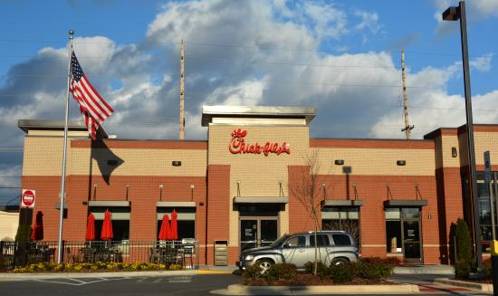 Chick fil a concord 1475 concord pkwy n restaurant for Cheap hotels near charlotte motor speedway