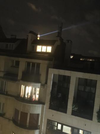 Hotel Elysees Regencia Paris: Blue Suite - Eiffel Tower View