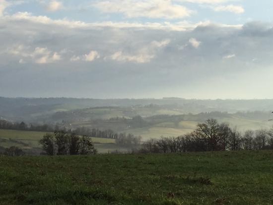 La Fouillade, France: A view a few minutes walk from gite