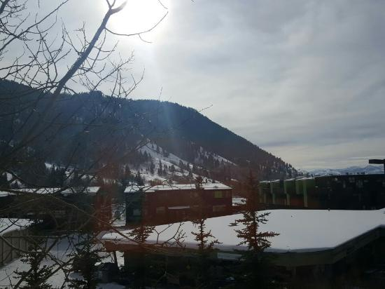 The Lodge at Jackson Hole: I love it here. So peaceful. King with fire suite