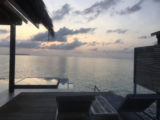 PER AQUUM Niyama Maldives: View from the deluxe overwater villa ....