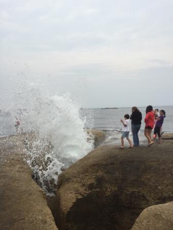 Bicheno Blowhole: photo0.jpg