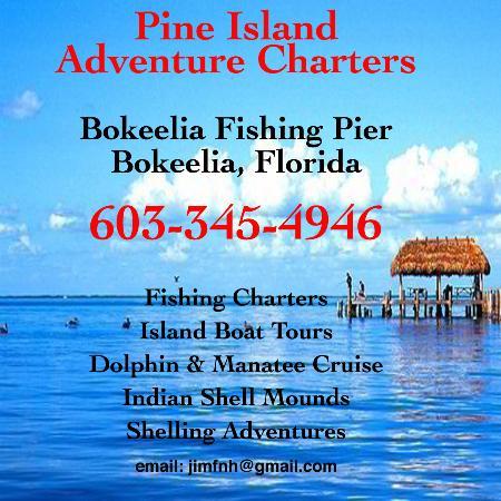 Bokeelia, Flórida: Pine Island Adventure Charters