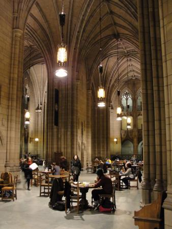 Cathedral of Learning: View of the study hall
