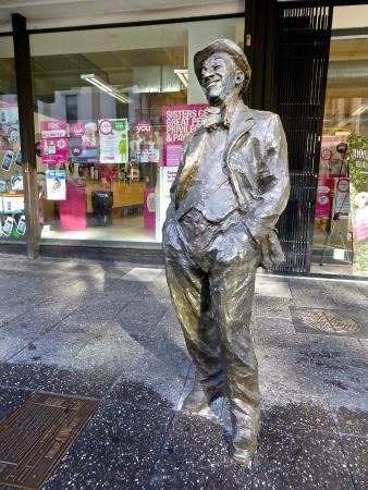 Roy Rene Statue