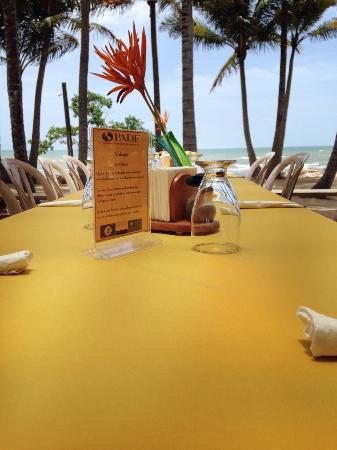 Pelican Beach - Dangriga: Luncheon view