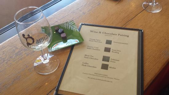 Burdett, Nova York: Wine and Chocolate Pairing