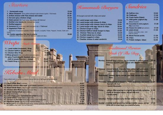 Moulin Rouge Cafe & Grill: the new menu back