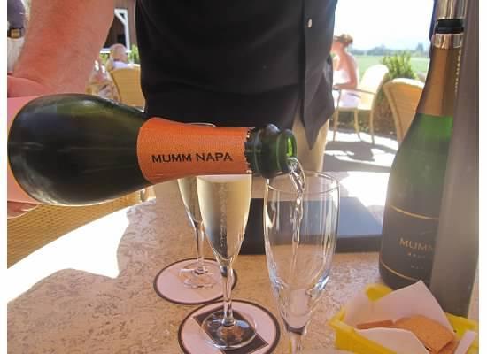 Rutherford, Kalifornia: Mumm Champagne Tasting
