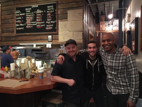 Farm Burger Decatur: Great Guys at Farm Burger...xo